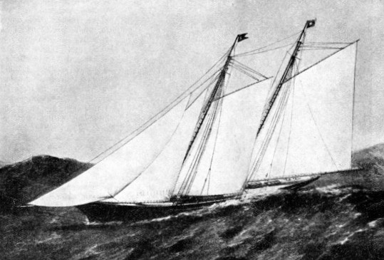 THE FIRST BRITISH CHALLENGER for the America's Cup was the Cambria